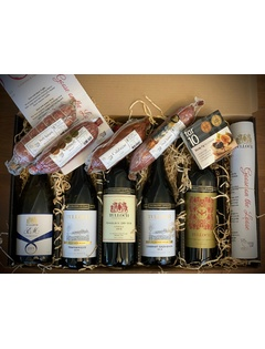 Salami and Wine Tasting Pack